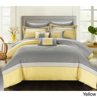 Clay Alder Home Fruita 10-piece Bed in a Bag with Sheet Set (Option: Yellow - Queen)