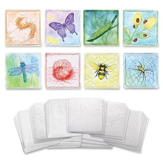 "ChenilleKraft 6"" Embossed Paper Insects Set - 24/PK"