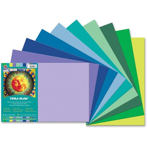 Pacon Tru-Ray Heavyweight Construction Paper - 1/PK