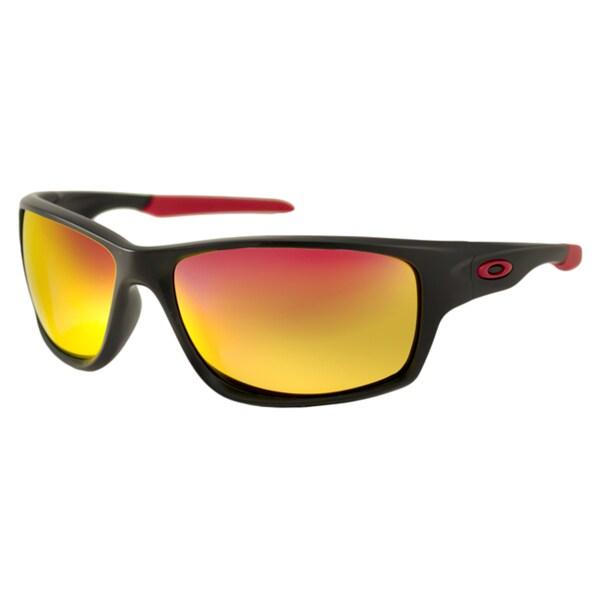 polarized oakley sunglasses u36v  Oakley OO9225 Canteen Men's Polarized/ Wrap Sunglasses