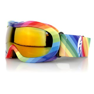 Crummy Bunny Children's Rainbow Ski Goggles