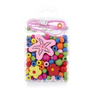 Crummy Bunny Little Girl DIY Starfish Necklace Craft Kit|https://ak1.ostkcdn.com/images/products/10341101/P17450448.jpg?impolicy=medium