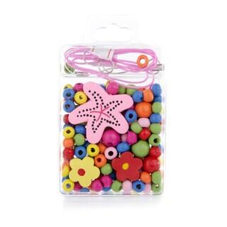 Crummy Bunny Little Girl DIY Starfish Necklace Craft Kit