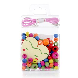 Crummy Bunny Little Girl DIY Heart Necklace Craft Kit