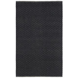 Black Jute Trellis Flat Weave Rug (9' x 12')|https://ak1.ostkcdn.com/images/products/10341133/P17450474.jpg?impolicy=medium