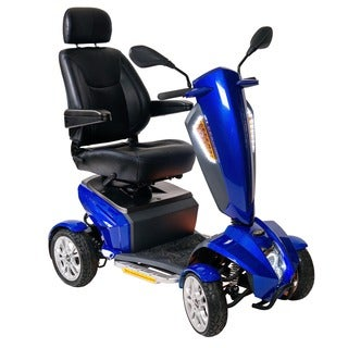 Drive Medical Odyssey GT Executive Power Mobility Scooter, with 18-inch Captain's Seat