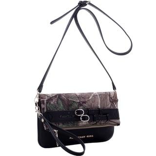 Realtree Girl Fold-over Clutch Messenger Bag