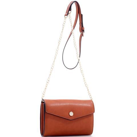 Realtree Girl Removable Goldtone Chain Crossbody Bag