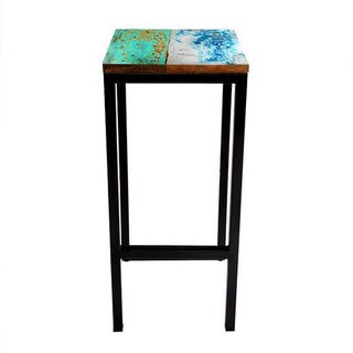 Fin and Tonic Reclaimed Wood Bar Stool