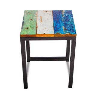 Perch Reclaimed Wood Stool