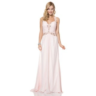 Bari Jay Ruched Chiffon Beaded Halter Open Back Evening Gown|https://ak1.ostkcdn.com/images/products/10341418/P17450701.jpg?_ostk_perf_=percv&impolicy=medium