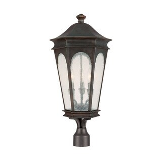 Capital Lighting Inman Park Collection 3-light Old Bronze Outdoor Post Head