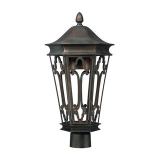 Capital Lighting Dark Sky Collection 1-light Old Bronze Outdoor Post Head
