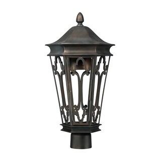 Capital Lighting Dark Sky Collection 1-light Old Bronze Outdoor Post Head