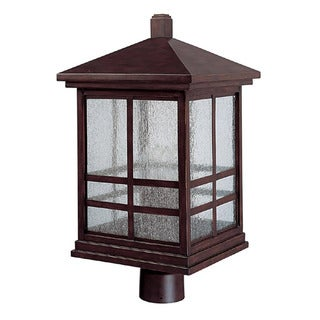 Capital Lighting Preston Collection 4-light Mediterranean Bronze Outdoor Post Head