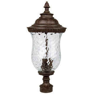 Capital Lighting Ashford Collection 3-light Tortoise Outdoor Post Head