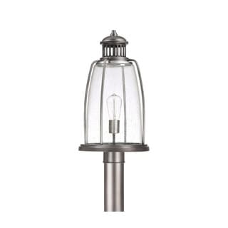 Capital Lighting Harbour Collection 1-light Graphite Outdoor Post Head