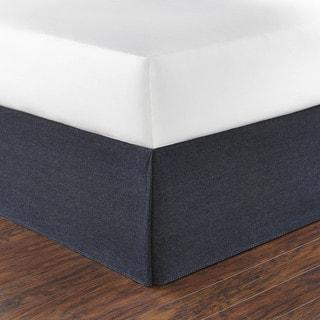 Nautica Seaward Denim 15-inch Drop Bedskirt