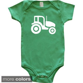 Rocket Bug Farm Animal Silhouette Tractor Baby Bodysuit (5 options available)