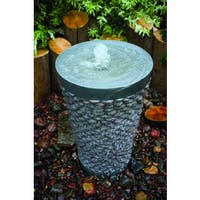 Round Pebble Fountain Kit