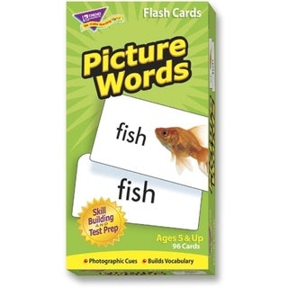 Trend Picture Words Flash Cards - 1/EA