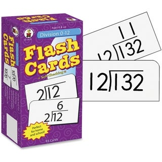 Carson-Dellosa Division 0-12 Flash Cards - 1/PK