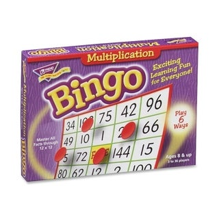 Trend T6135 Multiplication Bingo Learning Game - 1/EA