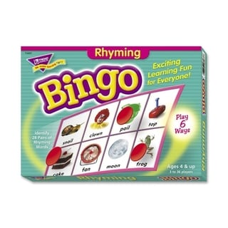 Trend Rhyming Bingo Learning Game - 1/EA