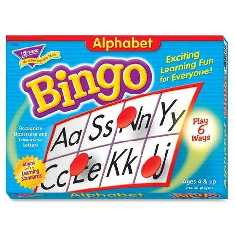 Trend Alphabet Learners' Bingo Game - 1/EA