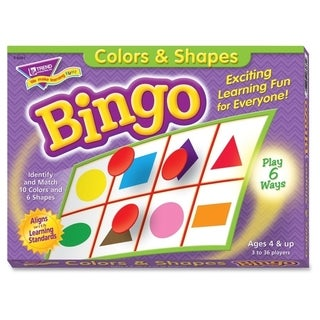 Trend Colors and Shapes Learner's Bingo Game - 1/EA