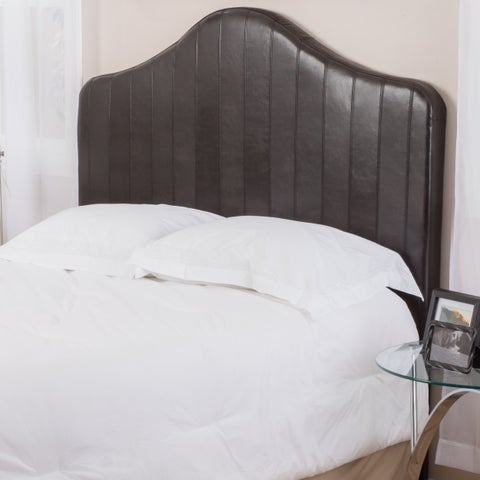 Christopher Knight Home Chambers Adjustable Full/Queen Bonded Leather Headboard