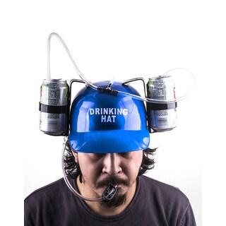Beer/Soda Helmet Cap with Straws