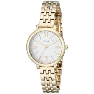 Fossil Women's ES3798 'Jacqueline' Gold-Tone Stainless Steel Watch
