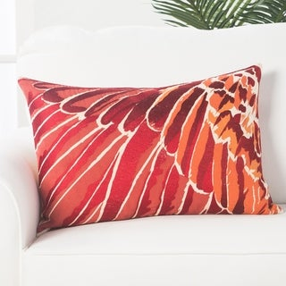 National Geographic National Geographic Animal Pattern Arabesque/ Chili Pepper Cotton 16x24 Throw Pillow