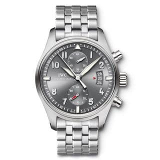 IWC Men's IW387804 'Spitfire' Chronograph Automatic Stainless Steel Watch|https://ak1.ostkcdn.com/images/products/10341878/P17451065.jpg?impolicy=medium