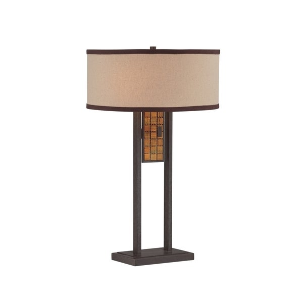 Lite Source Marquetta 2-light Table Lamp