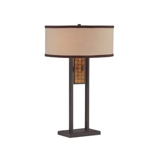 Lite Source Marquetta 2-light Table Lamp