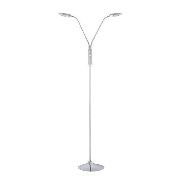 Lite Source Terra 2-light Floor Lamp
