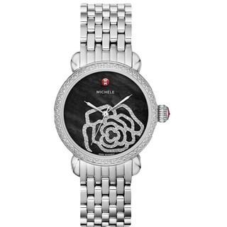 Michele Women's MWW03T000031 'CSX-36' Diamond Stainless Steel Watch