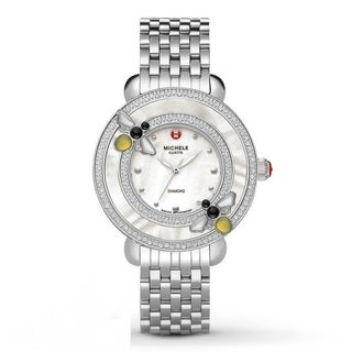 Michele Women's MWW20C000001 'Cloette' Diamond Stainless Steel Watch
