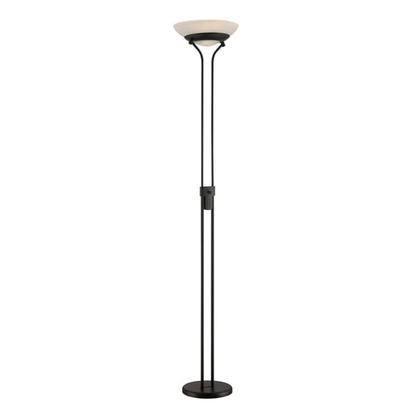 Lite Source Solarity 1-light Torch Lamp, Black