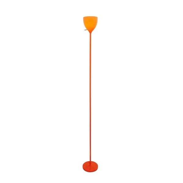 Lite Source Terran 1-light Torch Lamp, Orange