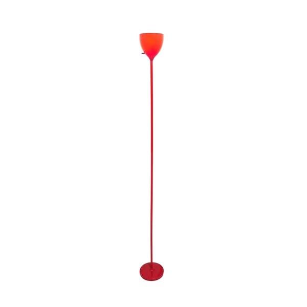 Lite Source Terran 1-light Torch Lamp, Red