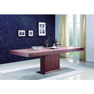 Talenti Casa Ponte Collection Walnut Veneer Dining Table