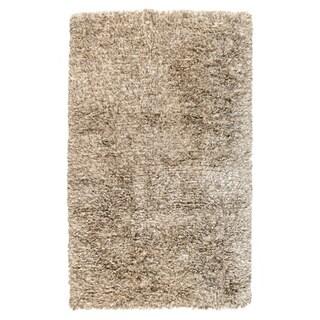 Kosas Home Handwoven Isador Sand Shag Rug (2' x 3')