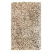Kosas Home Handwoven Isador Sand Shag Rug (2' x 3') - 2 x 3