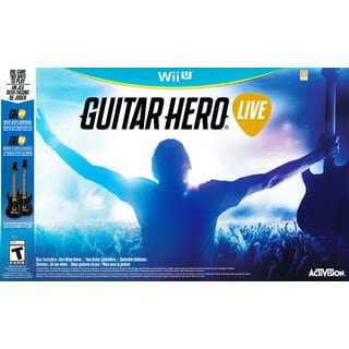 Wii U - Guitar Hero Live Guitar 2-Pack Bundle