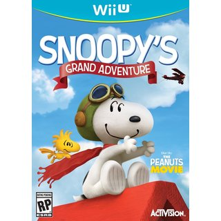 Wii U - Peanuts Movie: Snoopy's Grand Adventure