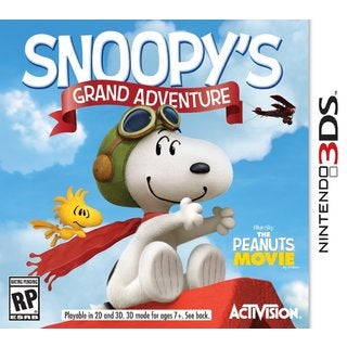 NinDS 3DS - Peanuts Movie: Snoopy's Grand Adventure