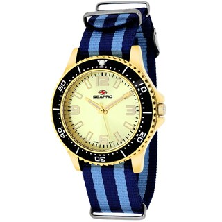 Seapro Women's SP5419NBL Tideway Round Two-tone Nylon Strap Watch